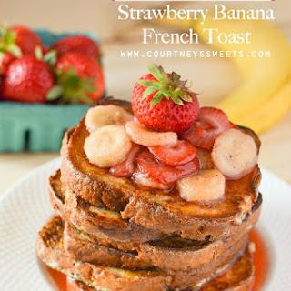 Gluten Free Strawberry Banana French Toast