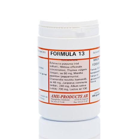 Formula 13 immunförsvar. Vid besvär av insekter
