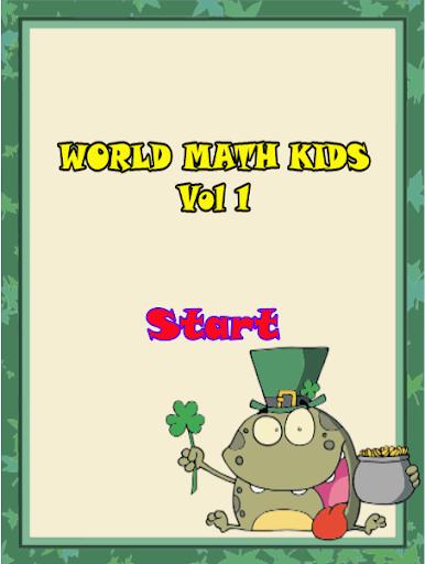 World Math Kids Vol1