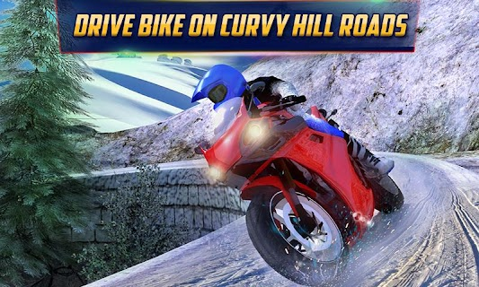 Crazy Offroad Hill Biker 3D screenshot 00