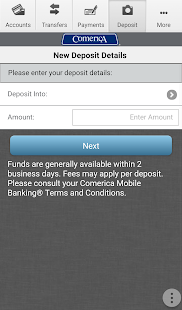 Comerica Mobile Banking®- screenshot thumbnail