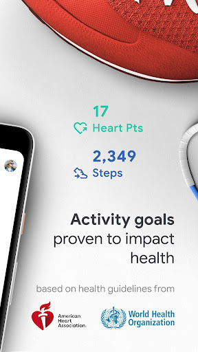 Google Fit: Health and Activity Tracking screenshot 2
