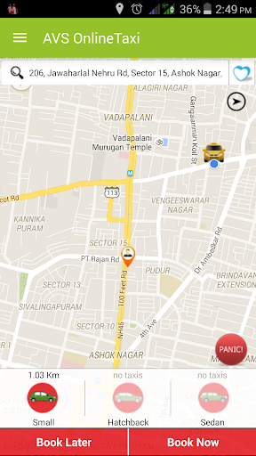 AVS Online Taxi