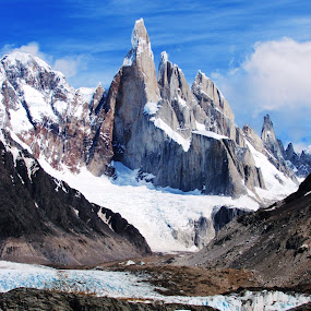 Cerro Torre - The impossible mountain by Fabio Ferraro - Landscapes Mountains & Hills ( argentina, cerro, mountain, patagonia, cerro torre )
