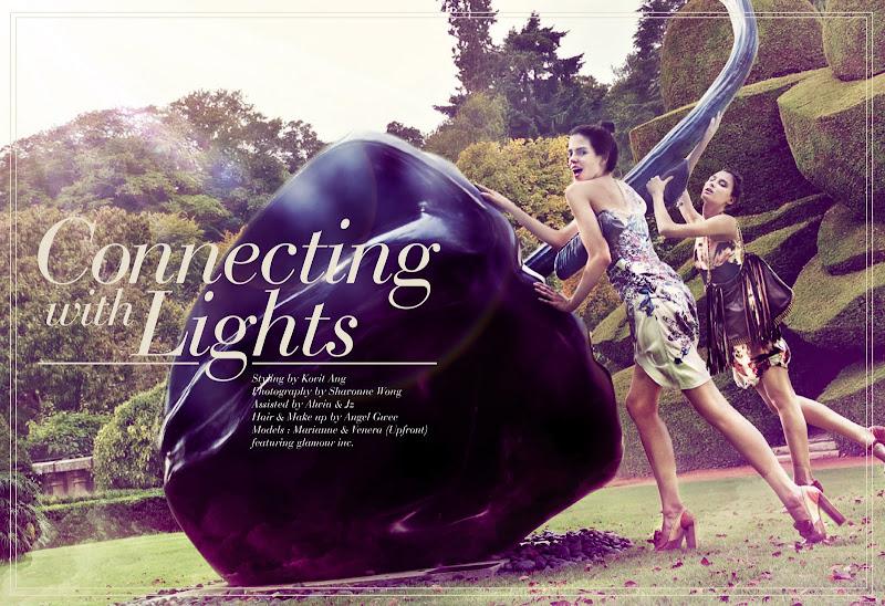 Photo: Styling: Kovit Ang Photographer: Shavonne Wong Models: Marianne & Venera (Upfront) MUA/Hair: Angel Gwee Assistants: Jonah Sun, Alwin Tan featuring glamour inc.