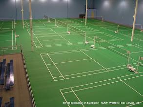 Photo: Badminton Facility
