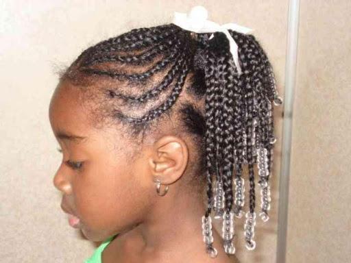 编织创意发型