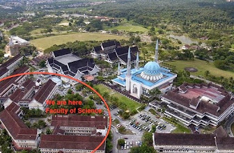 Photo: Faculty of Science Cluster Buildings at Lingkaran Ilmu: Main Administrative, Undergraduates, Classes and Labs.