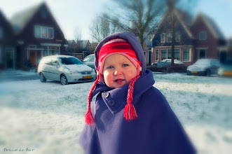 Photo: Sneeuwpret met Mathilde. 14-03-2013