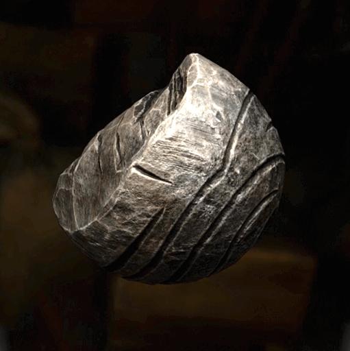 微光石の塊