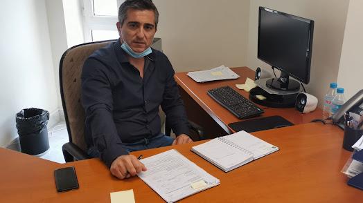 Concejal de Urbanismo, Germán Arqueros.