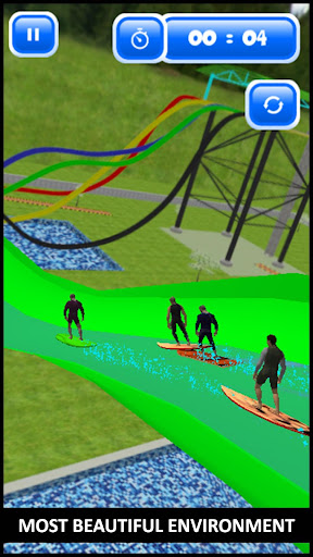 Water Slide Skateboard Race & Stunts : Water Skate 1.0 screenshots 3