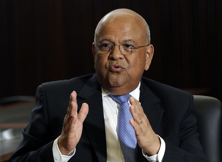 Pravin Gordhan.  Picture: RUSSELL ROBERTS