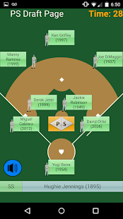 PS Draft Baseball - náhled