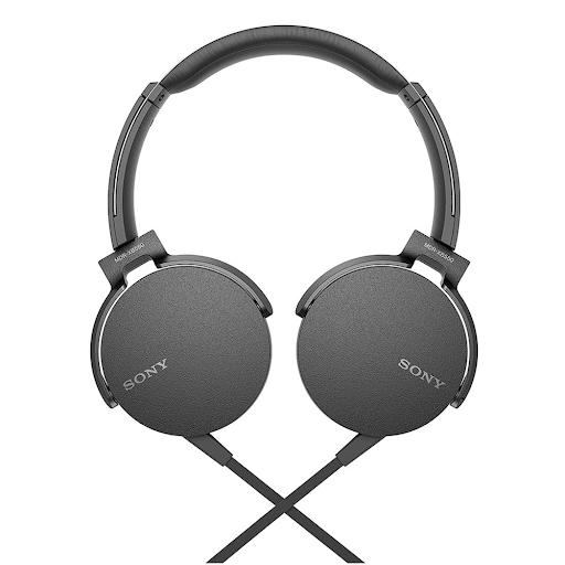 Tai nghe Sony MDR-XB550AP (Đen)-2