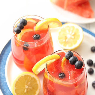 Watermelon Blueberry Sangria.