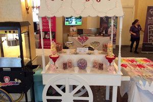 Wedding and Popcorn Stand at an event