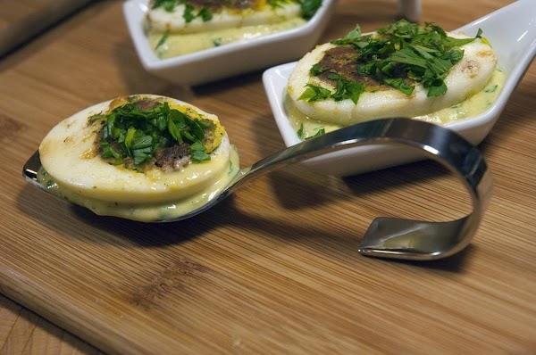 Add a bit of chopped parsley.