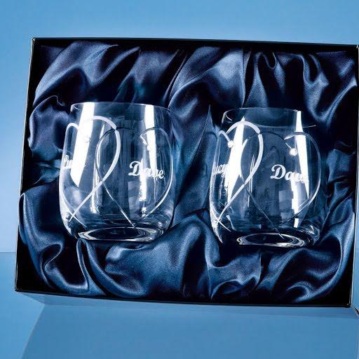Swarovski Spiral Whisky Tumbler Set
