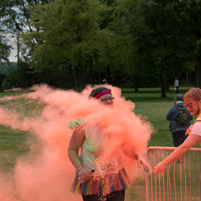 Colour Dash charity run by Tristan Wright - People Street & Candids (  )