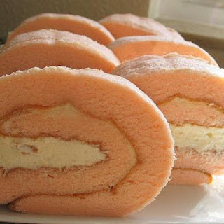 Whey Strawberry Rolls