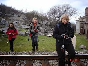 Photo: prvi od brojnih prelaza pruge