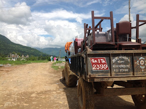 Photo: Dhamilikuwa, Lamjung - we were 2 hours away from the School at this point