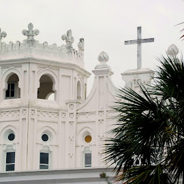 Church in Galveston by Brenda Shoemake - Buildings & Architecture Places of Worship
