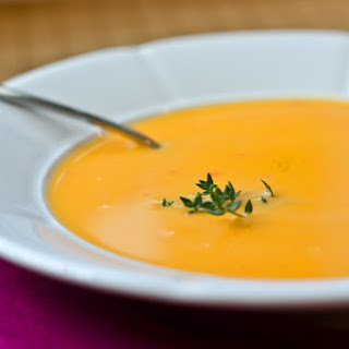 Easy Butternut Squash Soup.