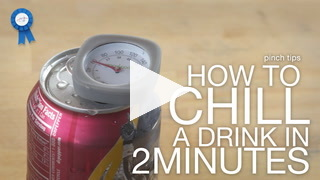 Pinch Tips: How To Chill A Drink In 2 Minutes Recipe