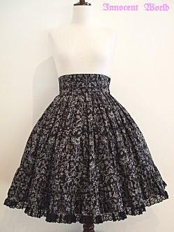 Selling Innocent World Classic Angels Bustled Skirt in Black