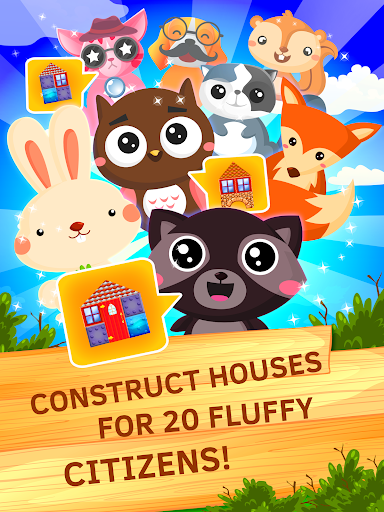 Building Construction Puzzle. Put bricks by plan. android2mod screenshots 3