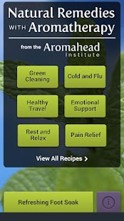 Aromahead's Natural Remedies- screenshot thumbnail