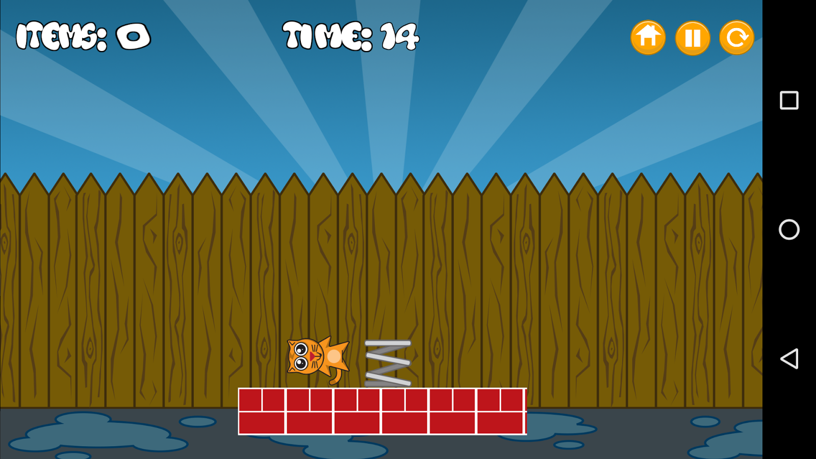 Alley Cat- screenshot