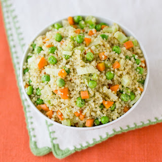 Quinoa with Vegetables.