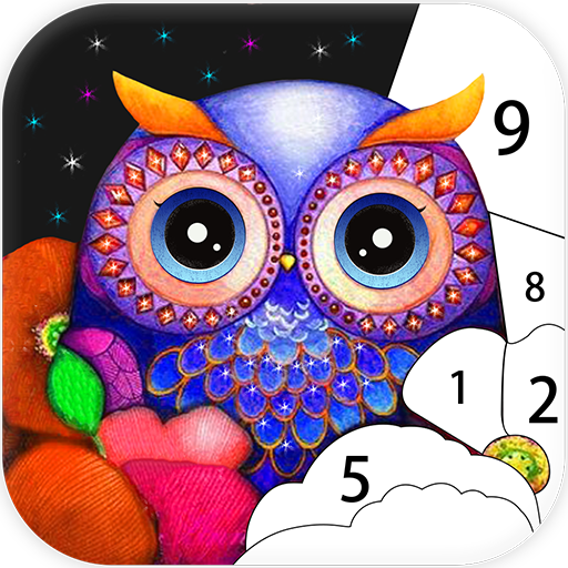 App Insights Coloring Games Color Puzzle Adult Coloring Book