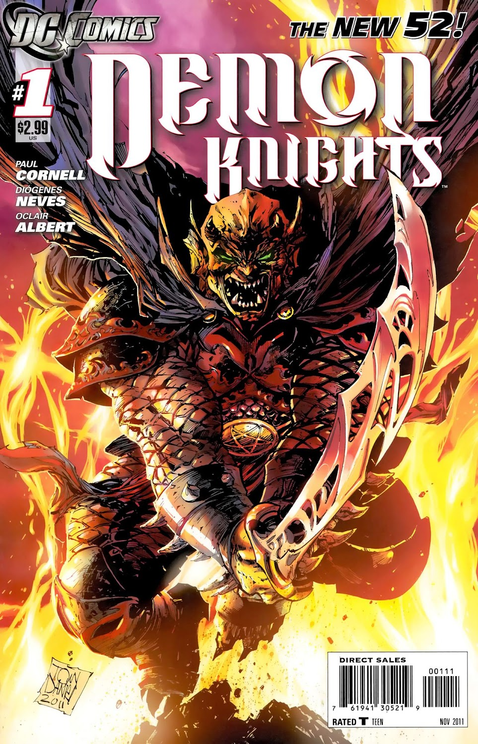 Demon Knights (2011) - complete
