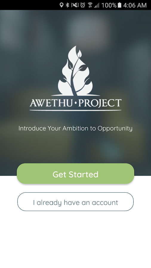 Awethu Project- screenshot