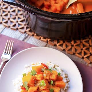 Slow Cooker Vegan Pumpkin Curry.