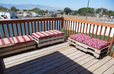 Pallet Patio Furniture - náhled