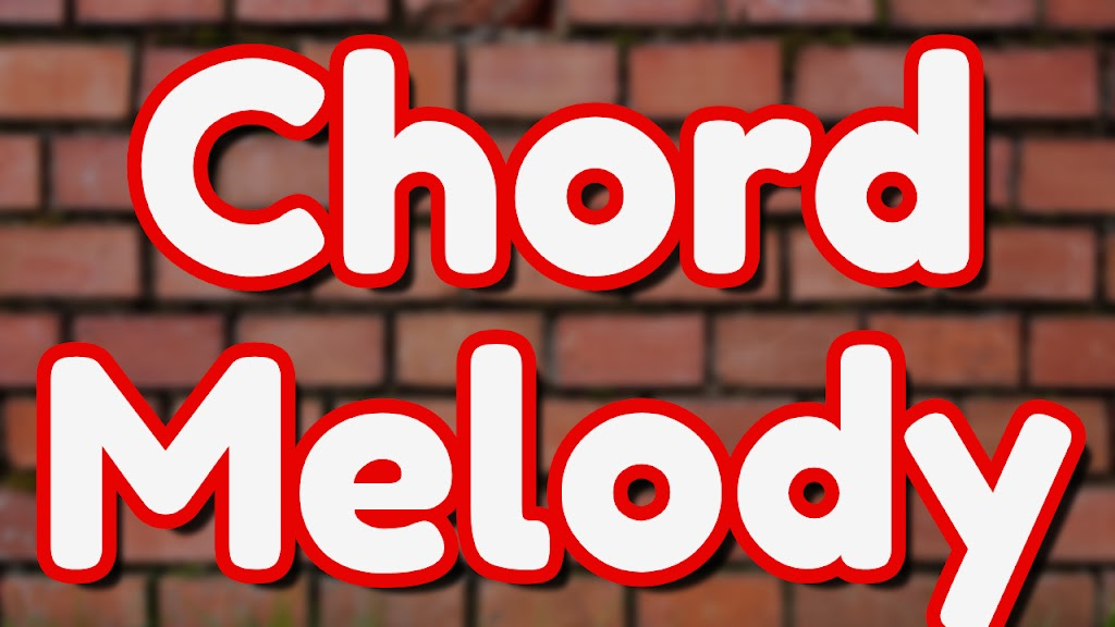 Chord Melody Learning Track