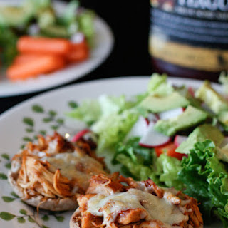 Slow Cooker Barbecue Chicken Melts