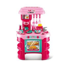 Bucatarie pentru copii Kitchen Cook cu lumini si sunete interactive