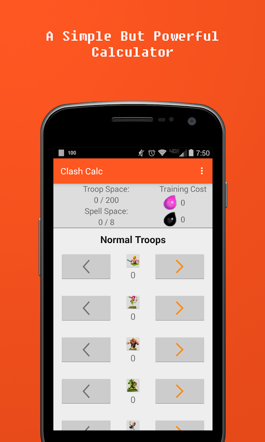Clash Calc Android Apps On Google Play