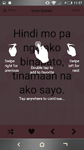 Tagalog Love Quotes- screenshot thumbnail