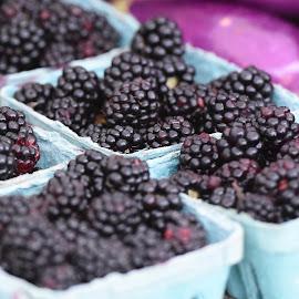 Raspberries  by Lorraine D.  Heaney - Food & Drink Fruits & Vegetables