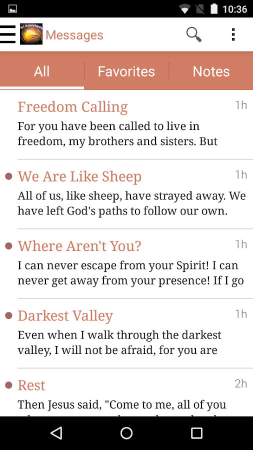 Center for Discipleship- screenshot