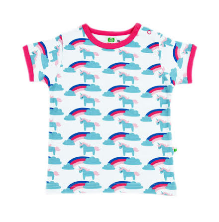Sture & Lisa T-shirt Unicorn/Rainbow