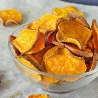 Homemade Sweet Potato Chips Recipe