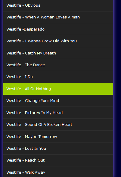 queen of my heart mp3 audio by westlife